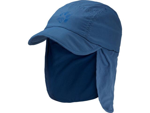Jack Wolfskin Supplex Canyon Hoofdbedekking Kinderen blauw